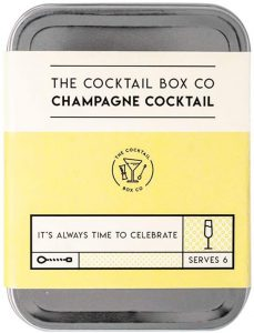 Champagne Cocktail In A Box